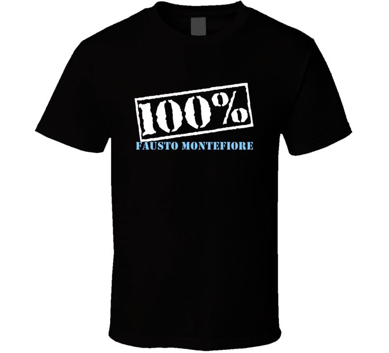 100 Percent Fausto Montefiore Boxer T Shirt