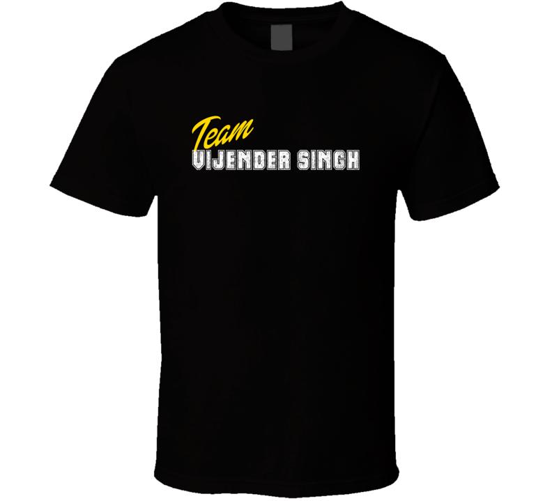 Team Vijender Singh Boxer T Shirt