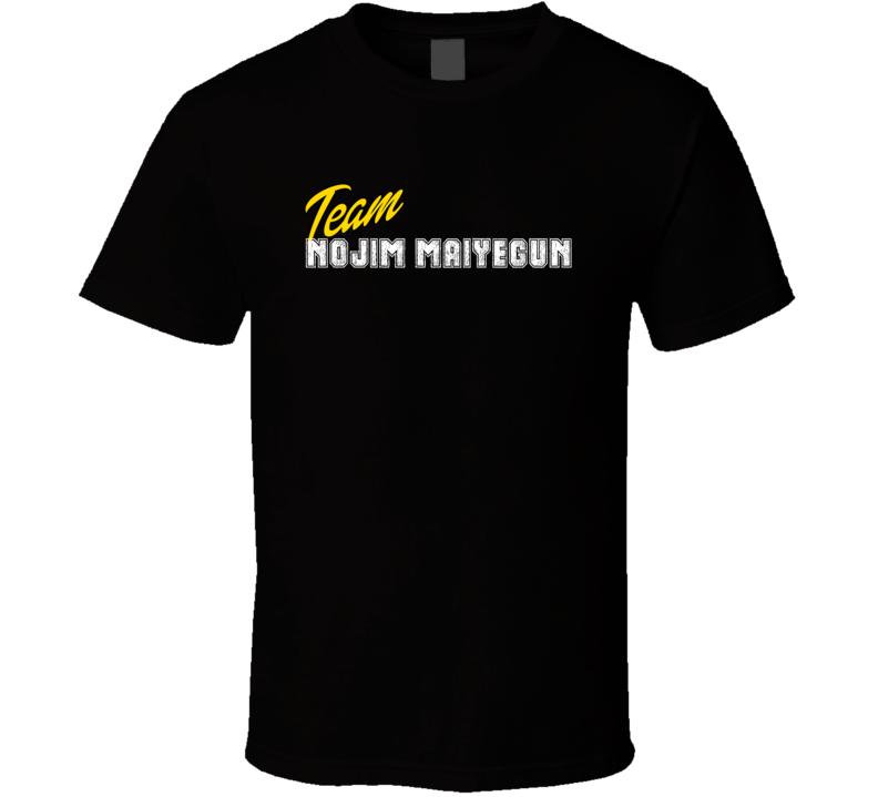 Team Nojim Maiyegun Boxer T Shirt
