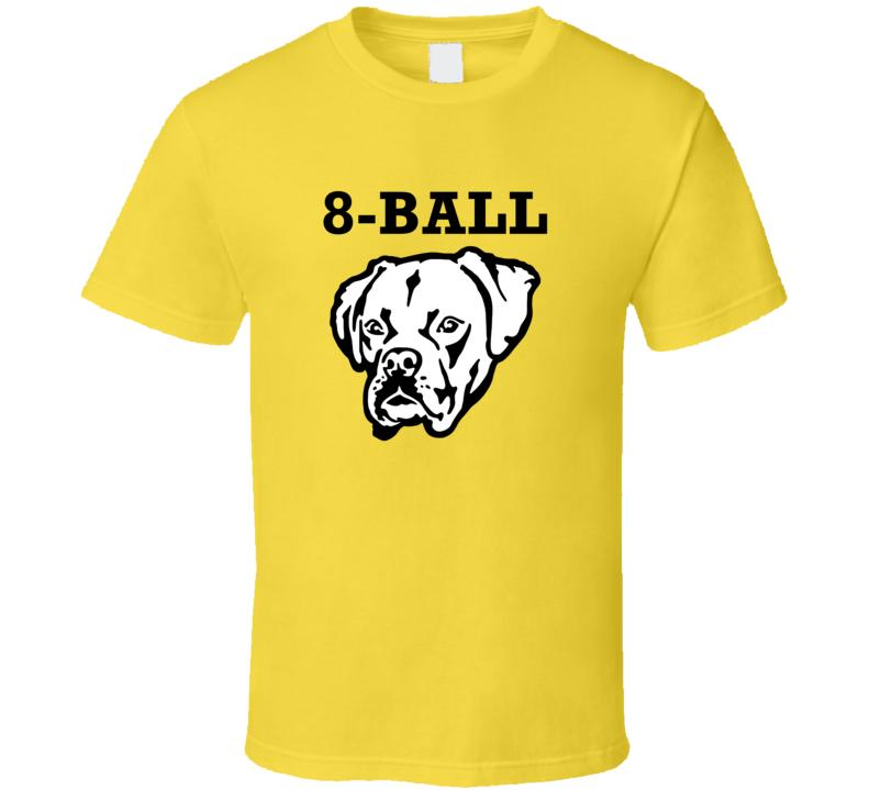 8-Ball Boxer Big Head Pet Best Friend Dog Lover T Shirt