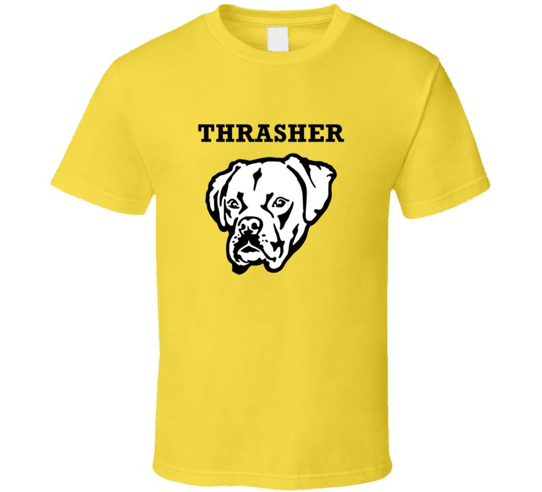 Thrasher Boxer Big Head Pet Best Friend Dog Lover T Shirt