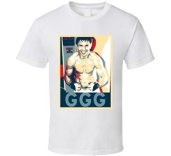 Gennady Golovkin Triple G Hope Boxing T Shirt