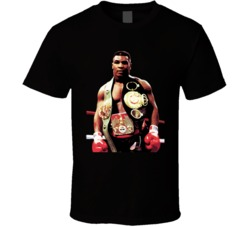 Mike Tyson Iron Mike Champion Boxing T Shirt