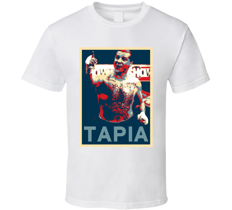 Johnny Tapia Mi Vida Loca Hope Boxing T Shirt