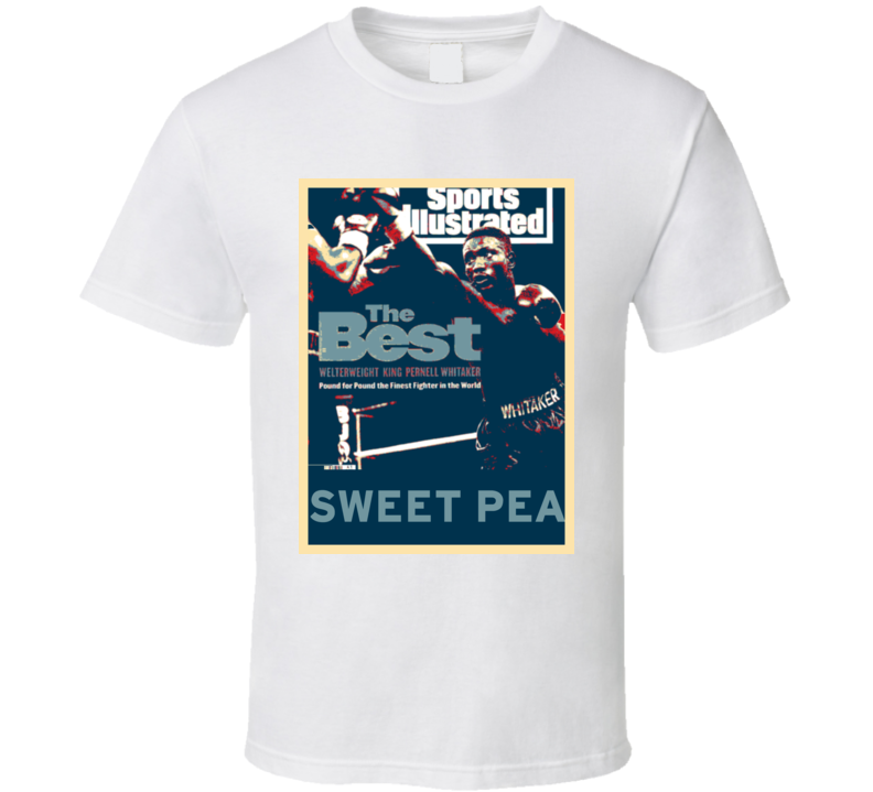 Pernell Whitaker Sweet Pea Hope Boxing T Shirt