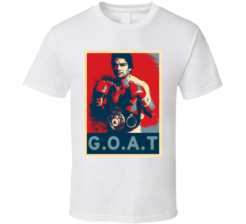 Roberto Duran Greatest Of All Time Hope Boxing T Shirt