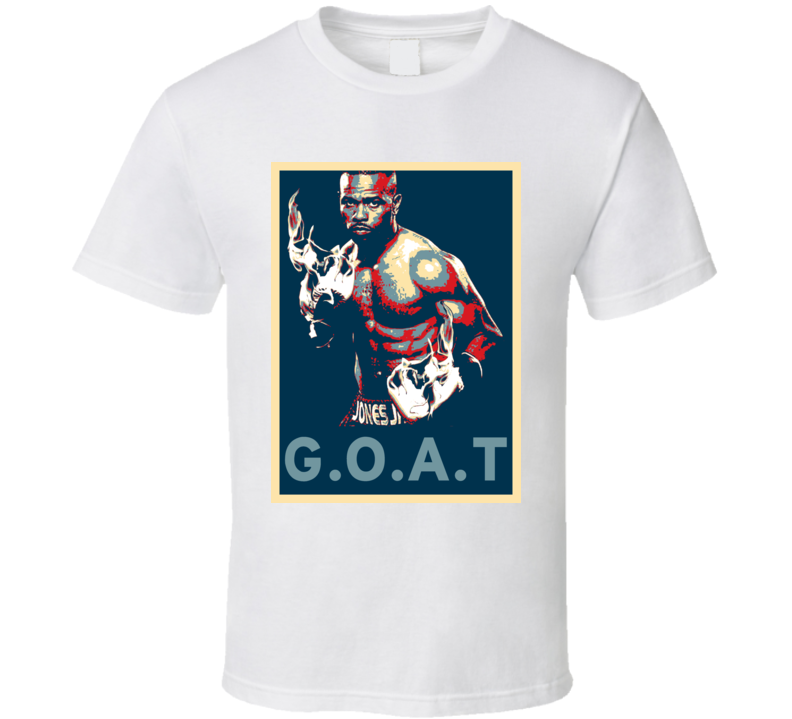 Roy Jones Jr Greatest Of All Time Hope Boxing T Shirt