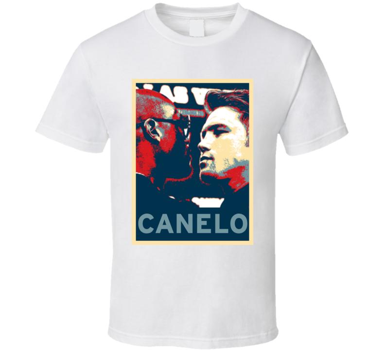 Saul Canelo Alvarez Hope Boxing T Shirt