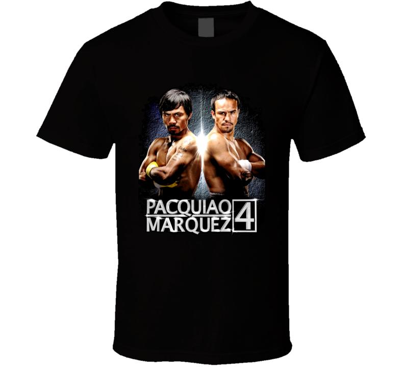 Manny Pacquiao Vs Juan Manuel Marquez 4 Boxing T Shirt