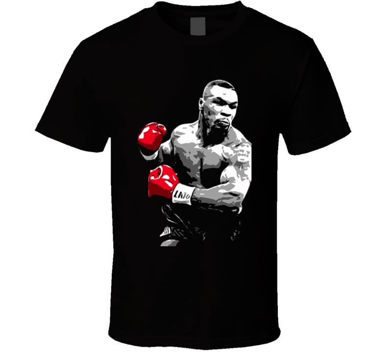 Mike Tyson Boxing Legend Retro Boxing T Shirt