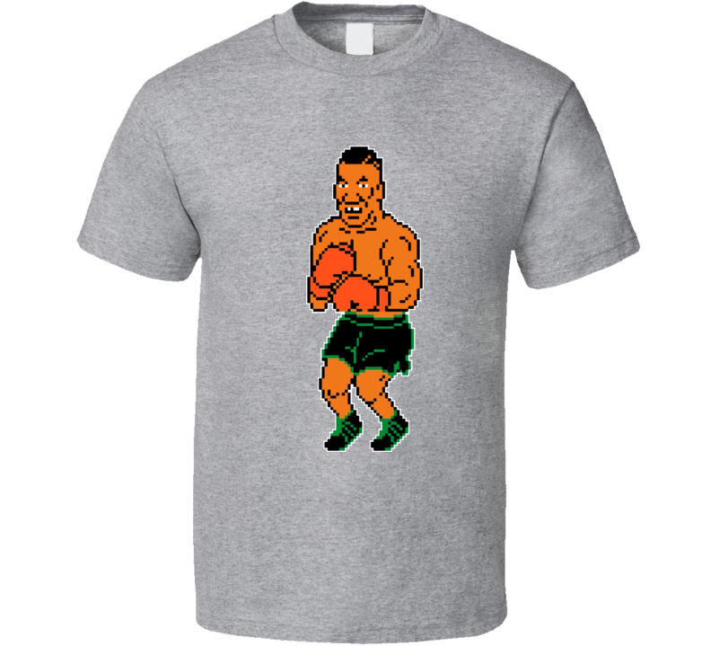 Mike Tysons Punchout Tyson 8 Bit Boxing T Shirt