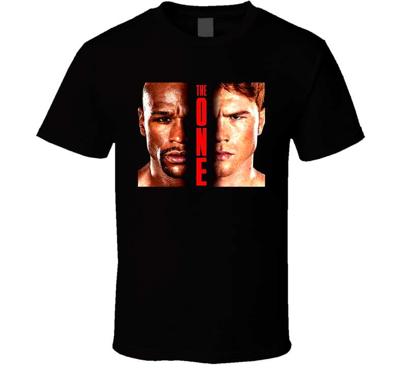 Floyd Mayweather Vs Saul Canelo Alvarez The One Boxing T Shirt