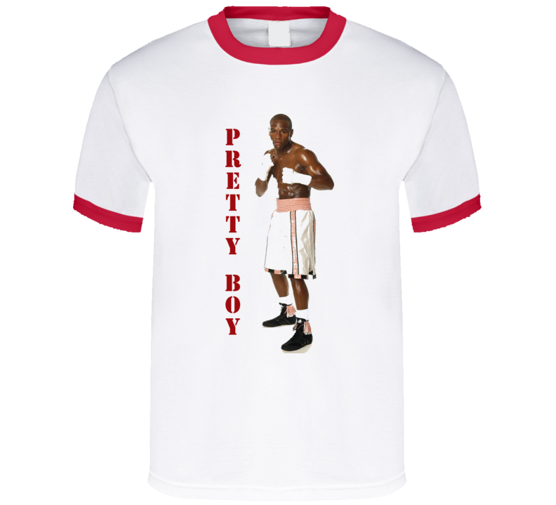 Floyd Mayweather Jr. Pretty Boy Retro Boxing T Shirt