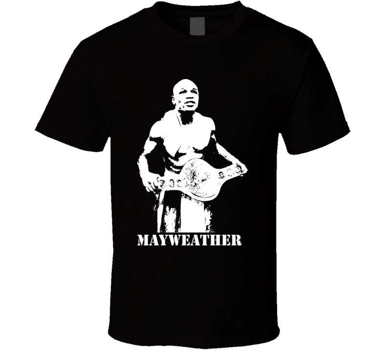 Floyd Mayweather Jr. Pound For Pound Champion Boxing T Shirt