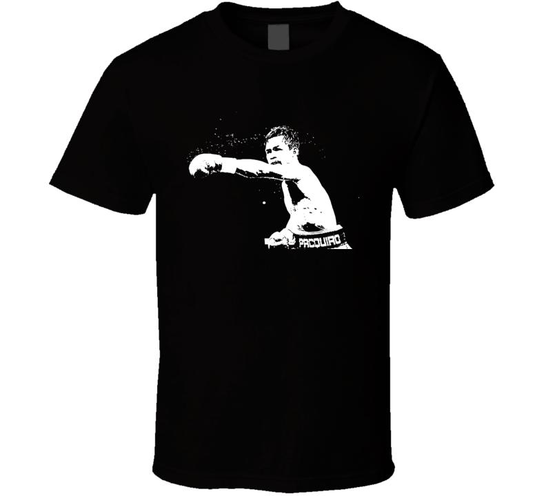 Manny Pacquiao Boxing Punch T Shirt