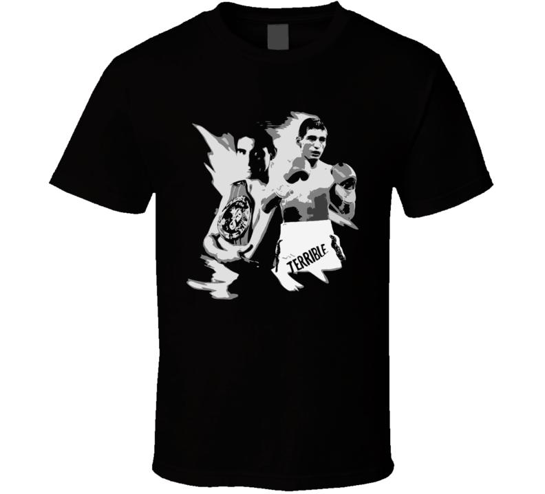 Erik Morales El Terrible Boxing Legend Retro Boxing T Shirt