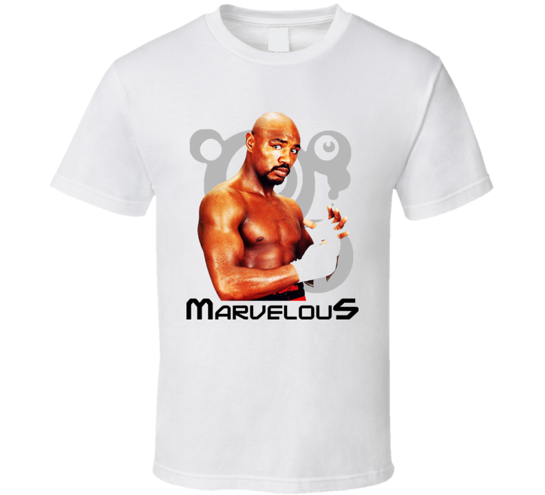 Marvin Marvelous Hagler Boxing Legend Retro Boxing T Shirt
