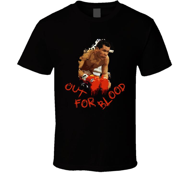 Julio Cesar Chavez Out For Blood Boxing Legend Boxing T Shirt