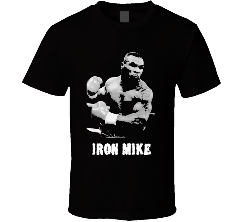 Iron Mike Tyson Boxing Legend Boxing T Shirt