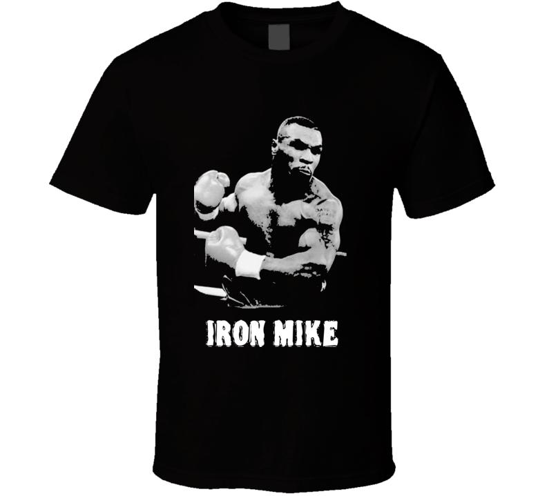 Iron Mike Tyson Boxing Legend Boxing T Shirt