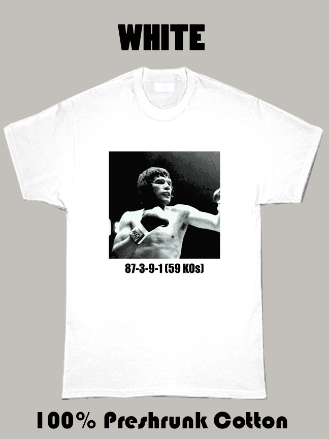 Carlos Monzon Boxing Legend T Shirt
