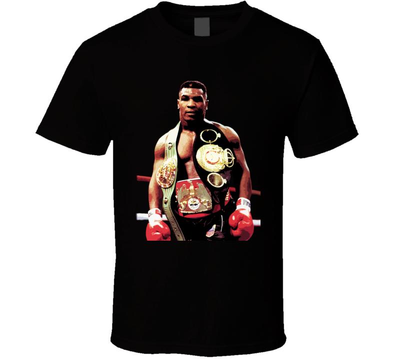 Mike Tyson Iron Mike Champion Boxing T Shirt
