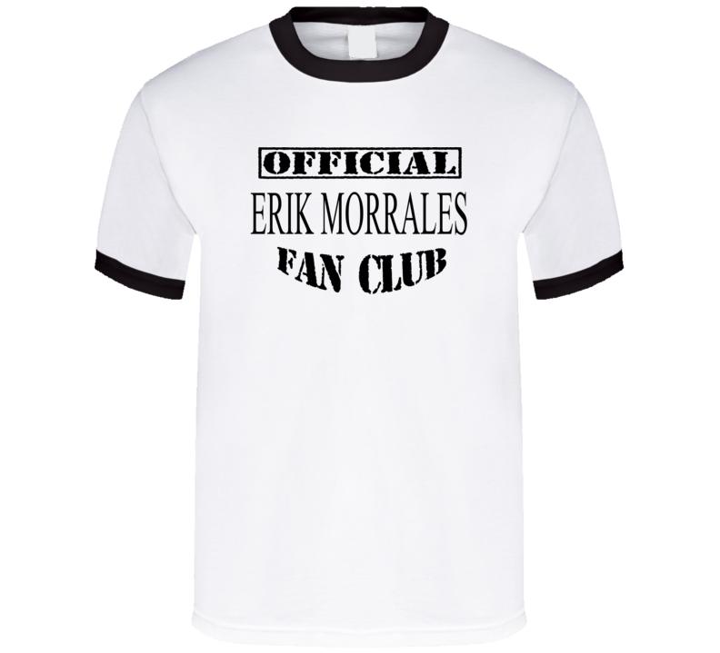 Erik Morrales Official Erik Morrales Fan Club Boxing T Shirt
