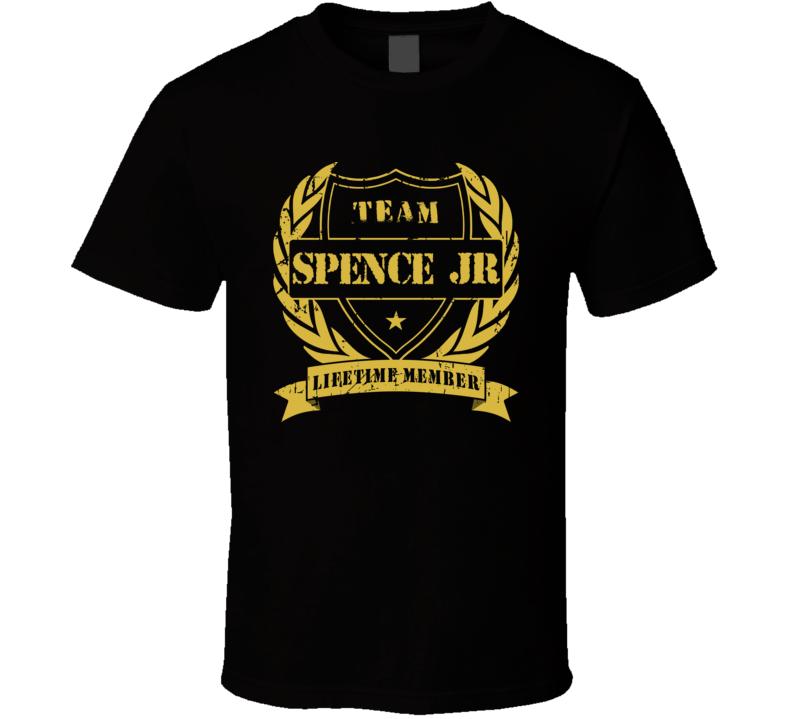 Errol Spence Jr Team Spence Jr Lifetime Member Boxing T Shirt