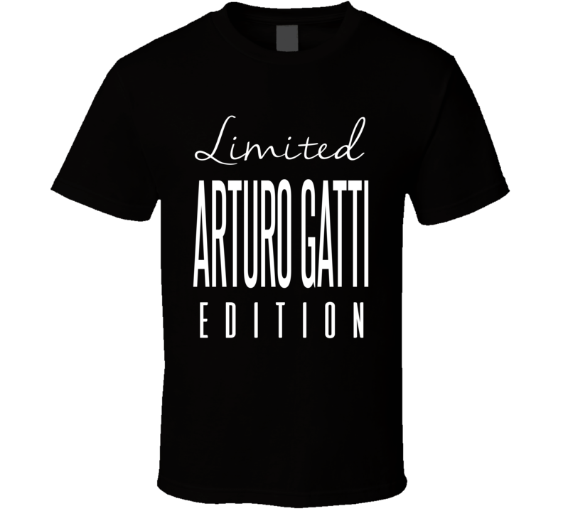 Arturo Gatti Limited Edition Boxing T Shirt
