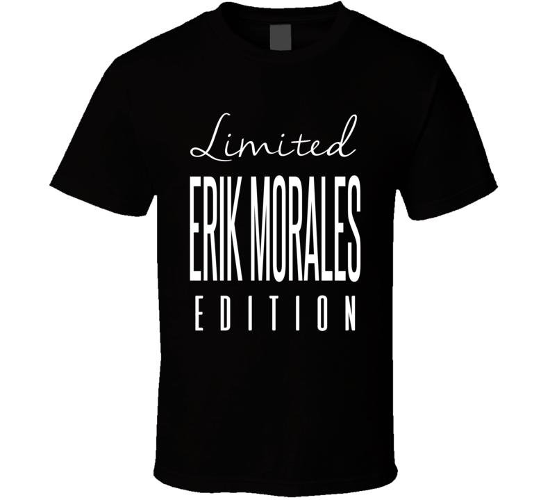Erik Morales Limited Edition Boxing T Shirt