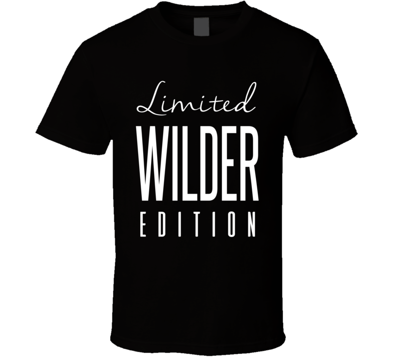 Deontay Wilder Limited Edition Boxing T Shirt