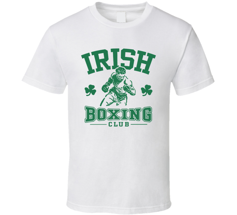 Irish Boxing Club Boxing T Shirt