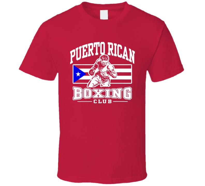 Puerto Rican Boxing Club Boxing T Shirt