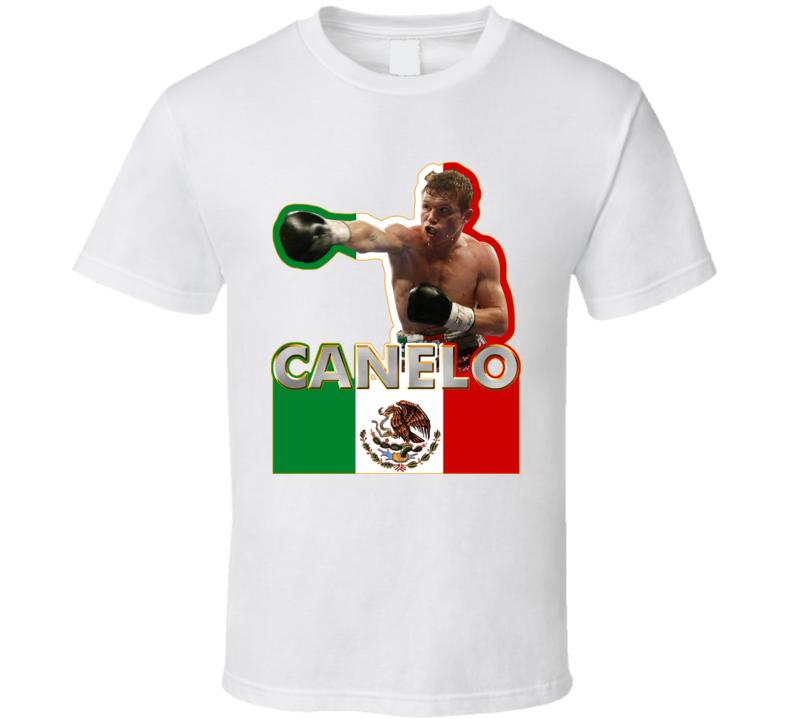 Saul Canelo Alvarez Mexico Boxing T Shirt
