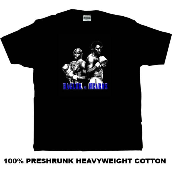 Marvin Hagler Vs Thomas Hearns The Fight Retro Boxing T Shirt