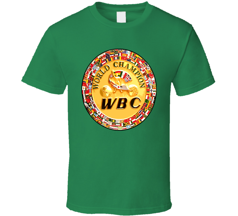 WBC Boxing Championship Belt Boxing T Shirt