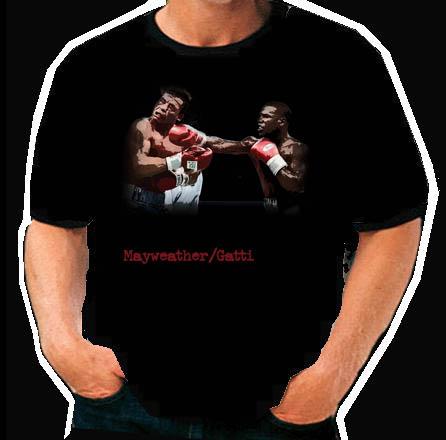 Floyd Mayweather Jr Vs Arturo Gatti Retro Boxing T Shirt