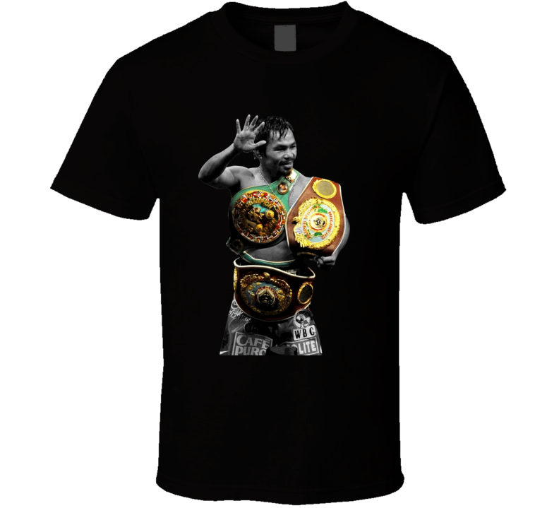 Manny Pacquiao Filipino Champion Boxing T Shirt