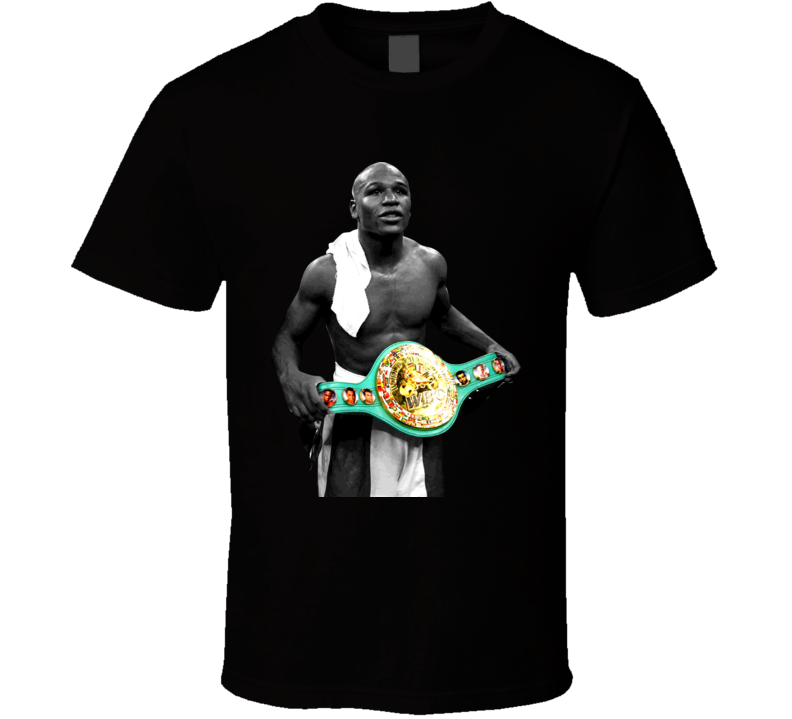 Floyd Mayweather Jr Money Champion Boxing T Shirt