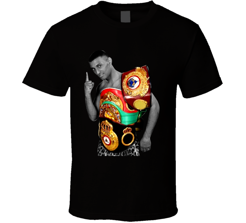 Prince Naseem Hamed England Boxing Champion Retro Boxing T Shirt