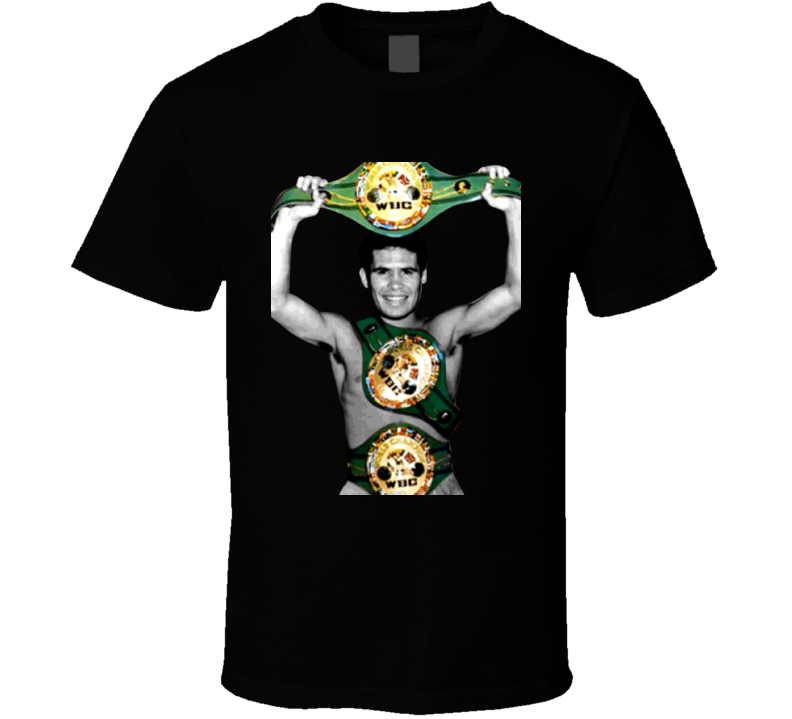 Julio Cesar Chavez Mexico Champion Retro Boxing T Shirt