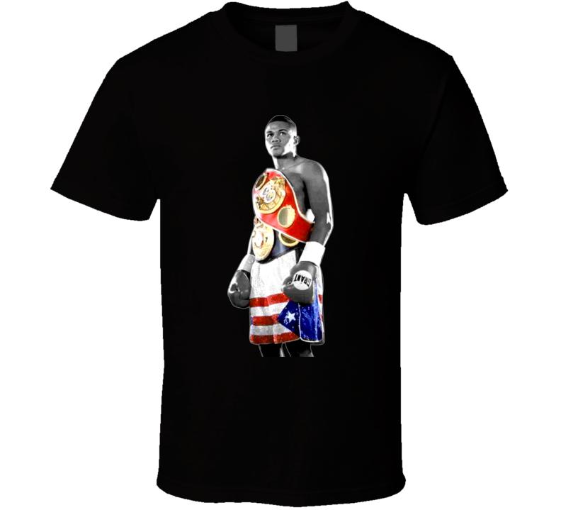 Felix Trinidad Tito Champion Retro Boxing T Shirt