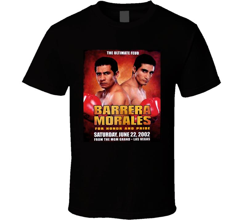 Marco Antonio Barrera Vs Erik Morales Retro Boxing T Shirt