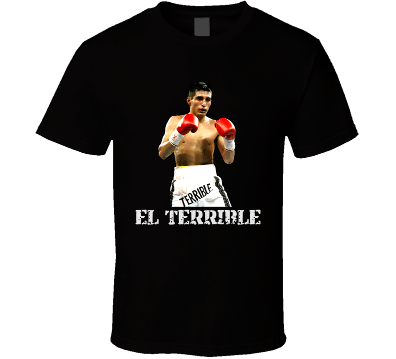 Erik Morales El Terrible Mexican Boxing Legend Boxing T Shirt