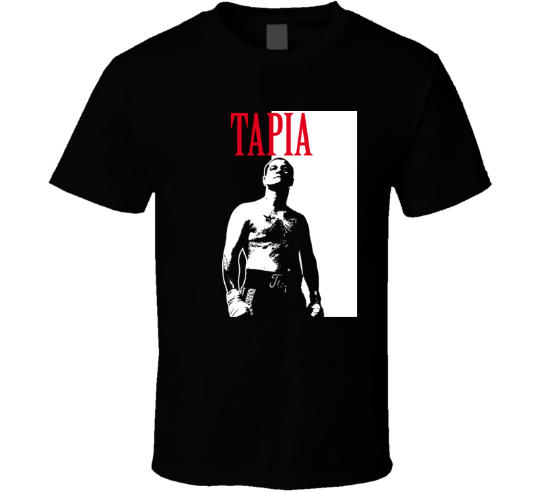 Johnny Tapia Scarface Legend Boxing T Shirt