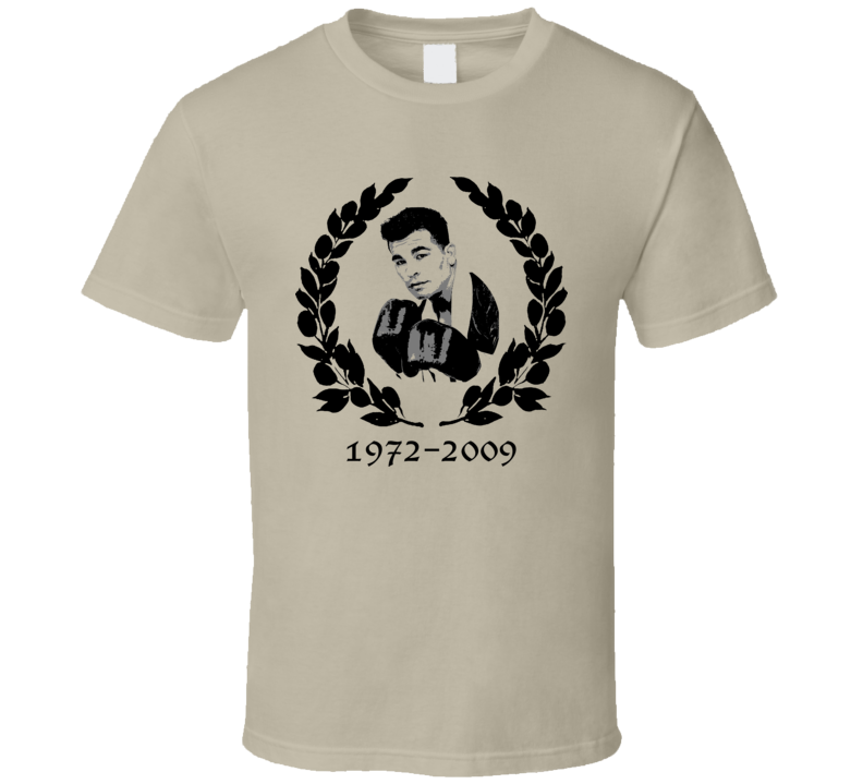Arturo Gatti Thunder Tribute Boxing T Shirt