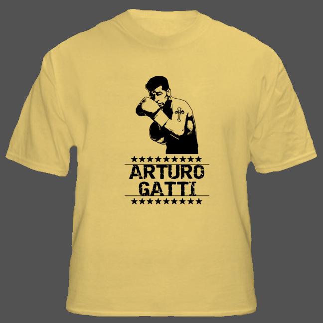 Arturo Gatti Thunder Tribute Boxing T Shirt