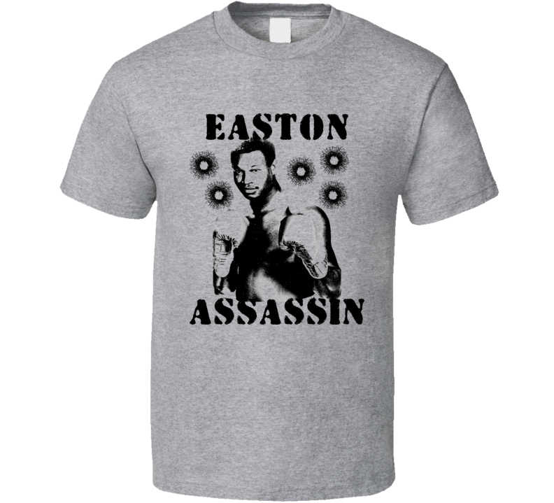 Larry Holmes Easton Assassin Retro Boxing T Shirt