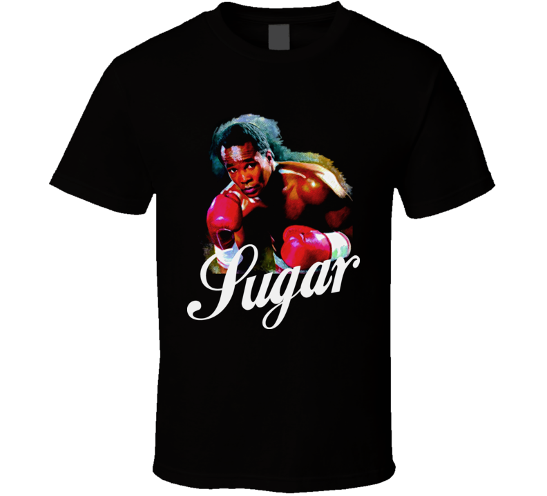 Sugar Ray Leonard Boxing Legend Retro Boxing T Shirt