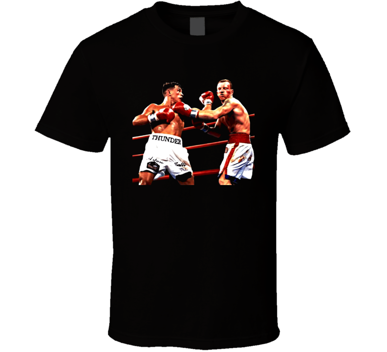 Arturo Gatti Vs Micky Ward Classic Fight Retro Boxing T Shirt